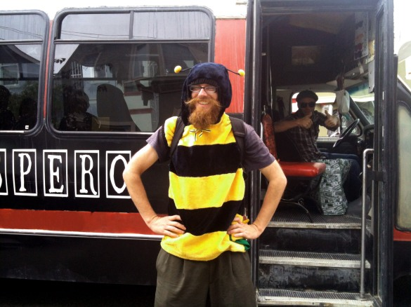 Don Bee with a beard in 2012 © 2014 Pollinator Support Movement