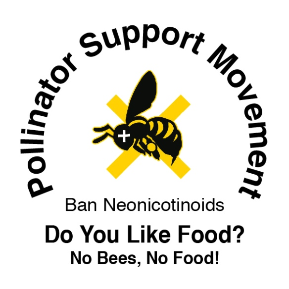 Historical PSM Official Launch Sticker © 2012 Pollinator Support Movement