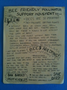A Don Hughes PSM Flyer © 2012 Pollinator Support Movement