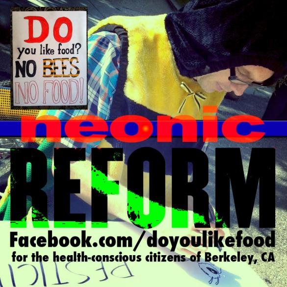 """neonics REFORM"""" poster © 2014"""
